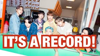 BTS BREAKS 24 hour YOUTUBE record   BTS DYNAMITE is now the most watched video in 24 HOURS!