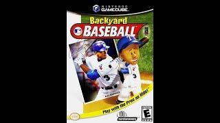 Backyard Baseball (Nintendo GameCube)