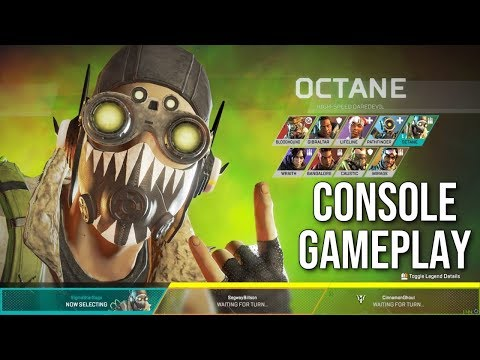 Apex Legends Octane Gameplay (First Game on PS4 w/ Octane)