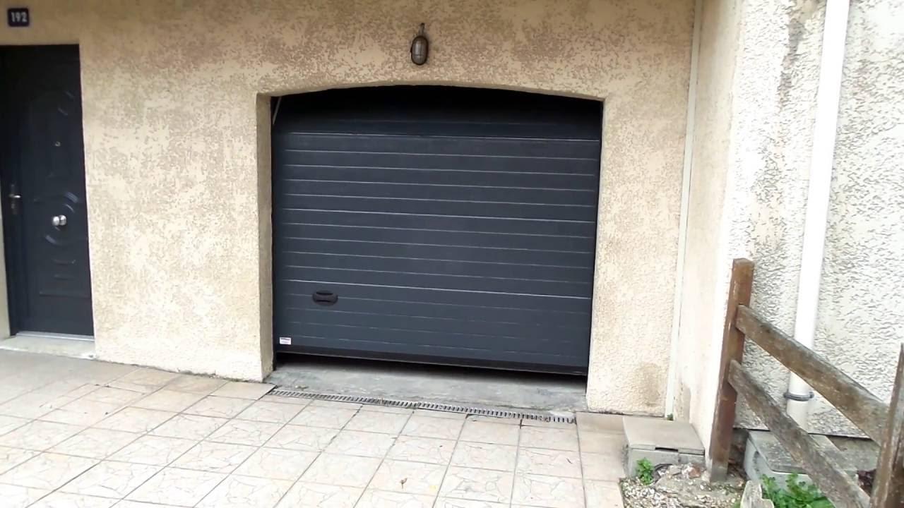 59 r alisation cor porte de garage sectionnelle verticale en ouverture youtube. Black Bedroom Furniture Sets. Home Design Ideas