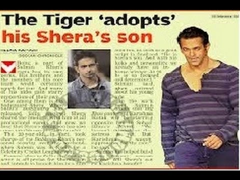 Salman Khan Launches Bodyguard Sheras Son In Sultan Youtube