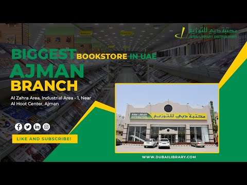 Dubai Library Distributors  -The Biggest Store in UAE For St