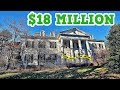 (INSIDE) $18 MILLION ABANDONED MANSION!