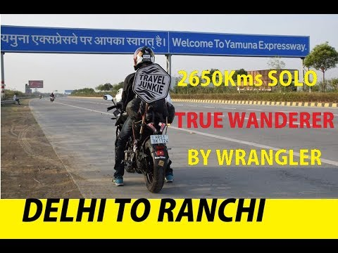 Delhi - Ranchi Road Trip!!! 7 days journey in just 5 minutes!! TRUE WANDERER