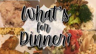 WHAT'S FOR DINNER WEDNESDAY // EASY FAMILY DINNER IDEAS