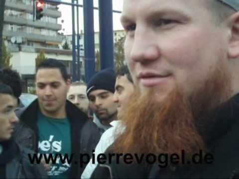 Pierre Vogel beantwortet Fragen zu Scharia und Grundgesetz (30.10.2010) Interview Hessenschau