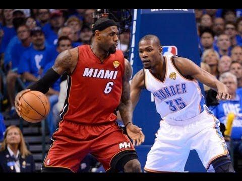 LeBron James vs Kevin Durant NBA Finals 2012 - YouTube