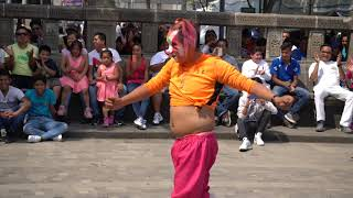 Payaso Pikolin Show Alameda Central CDMX  Abril 2018