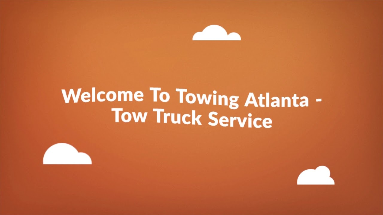 Tow Truck - Towing Service in Atlanta, GA