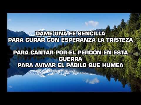 Sencilla con Letra - Santiago Benavides