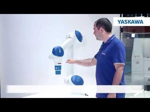 YASKAWA' dan İnsanla Birlikte Çalışabilen Robot / Collaborative Robot (  Motoman HC10 )