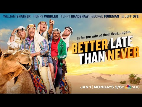 Download BETTER LATE THAN NEVER S2 - Trailer