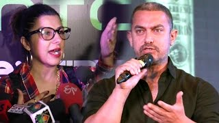 Singer Hard Kaur Abusing Aamir Khan Intolerance Controversy In Public