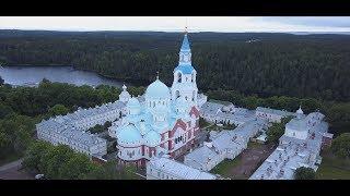Святейший Патриарх Кирилл совершил Литургию в Спасо-Преображенском Валаамском монастыре