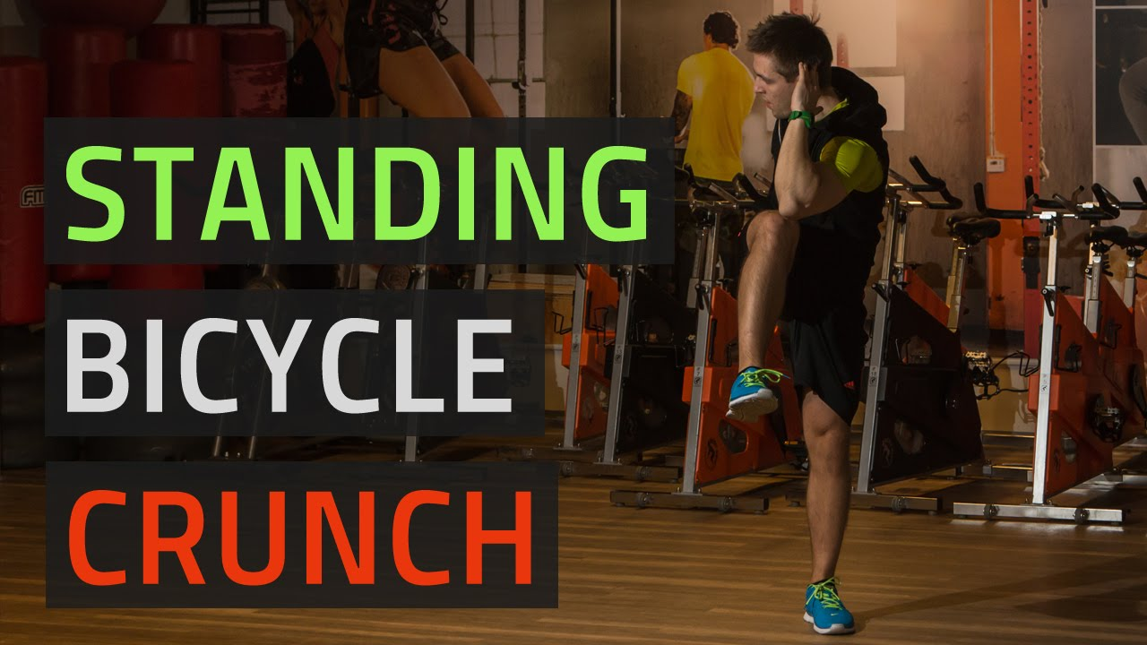 Standing Bicycle Crunch More Functional Than Regular Bicycles Youtube