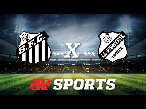 AO VIVO - Santos x Internacional de Limeira - 30/01/20 - Campeonato Paulista - Futebol JP