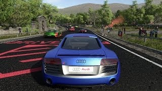 Driveclub Gameplay - KINLOCH SCOTLAND (Audi R8 V10 Coupé plus) [PS4]