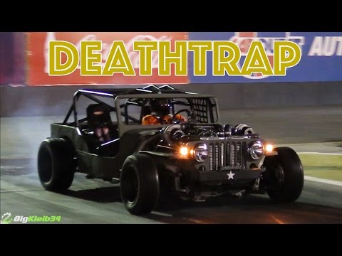 """The Wicked Fast """"Death Trap"""" Jeep Lives Up to its Name"""