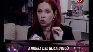 Duro de Domar - Andrea Del Boca ubicó a Mirtha Legrand 19-07-10