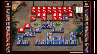 Stratego Full game, how to play a marshal blitzer!