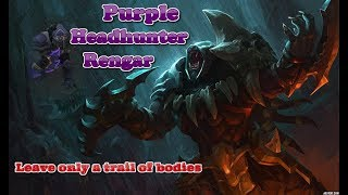 ★LEAVE ONLY A TRAIL OF BODIES - Purple Rengar jungle Chroma Highlights