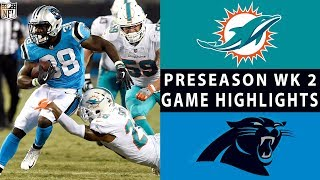 Video Dolphins vs. Panthers Highlights | NFL 2018 Preseason Week 2 download MP3, 3GP, MP4, WEBM, AVI, FLV Agustus 2018