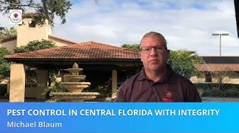 Pest Control in Central Florida also in Davenport, Kissimmee, Clermont, Windermere, Winter Garden