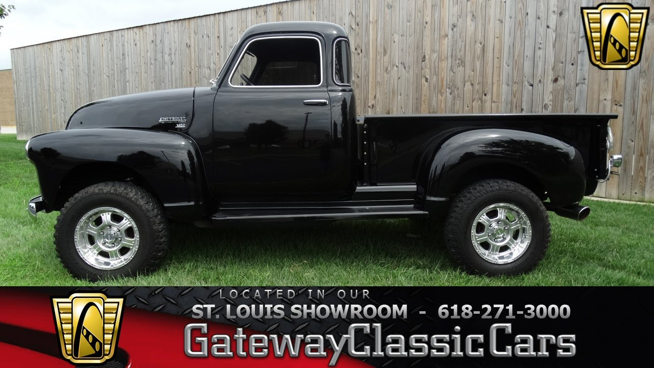 1948 chevrolet 3100 5 window 4x4 stock 6996 gateway classic cars st