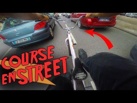 COURSE DE BMX EN VILLE A TOUT VITESSE !! - Pov GoPro Bmx