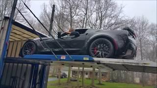 2015 Callaway Corvette Z06 Delivery