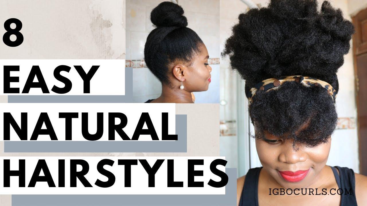 15 Natural Hairstyles Updo  Bun Edition 15 IGBOCURLS