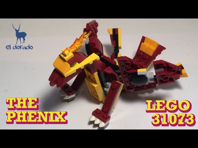 LEGO CREATOR 3in1 31073 The Pheonix - Alternate Mythical Creatures- SpeedBuild Construction/eldorado