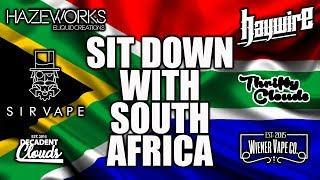 Sit Down With South Africa | A Look At South Africas Vape Scene | Vaping Bogan
