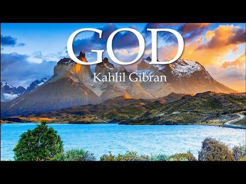 GOD, Kahlil Gibran