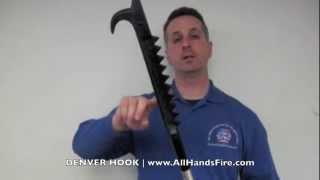 Denver Fire Hook available at All Hands Fire Equipment Firefighter Hooks