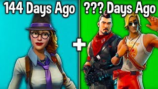 10 SKINS YOU DIDN'T KNOW ARE RARE! (Fortnite Rarest Skins)