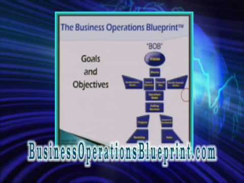 Goals and Objectives - Business Operations Blueprint