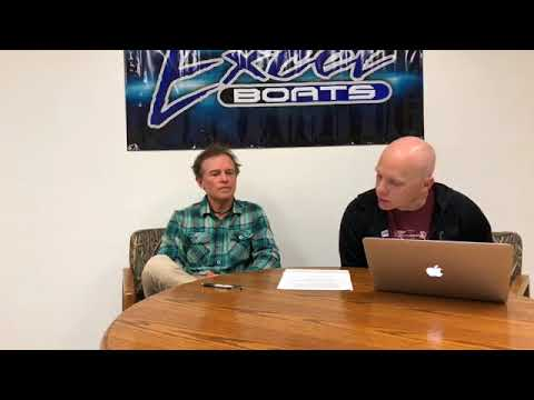 Excel Boats Q&A Thursday Nov 30, 2017