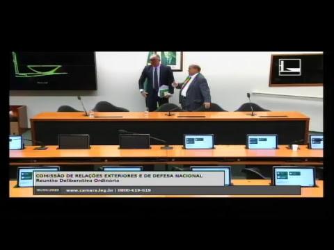 RELAÇÕES EXTERIORES E DE DEFESA NACIONAL - Reunião Deliberativa - 06/06/2018 - 10:27