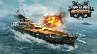Ships of Battle: The Pacific ▶️Android GamePlay 1080p(by VascoGames )
