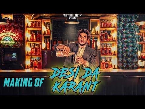 Making of Desi Da Karant | Vadda Grewal | White Hill Music