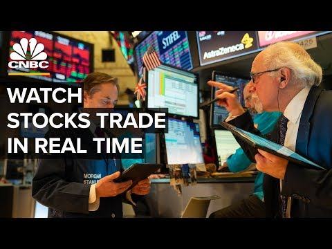 Watch Stocks Trade In Real Time – 3/9/2020