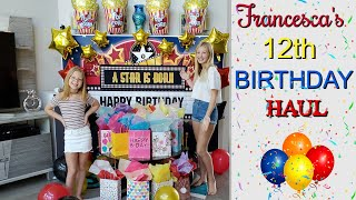 Francesca's 12th Birthday Haul!