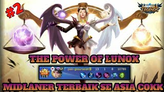 AGGRESSIVE LUNOX GAMEPLAY #2 || MOBILE LEGENDS INDONESIA