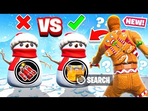 CHOOSE the SNOWMAN Game Mode in Fortnite Battle Royale thumbnail