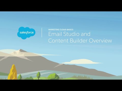 Email Studio and Content Builder Overview