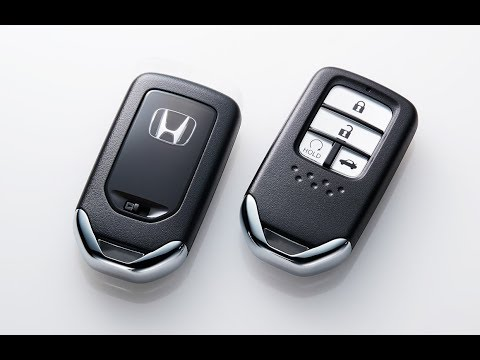What to do when your Honda Smart Key's battery goes flat?