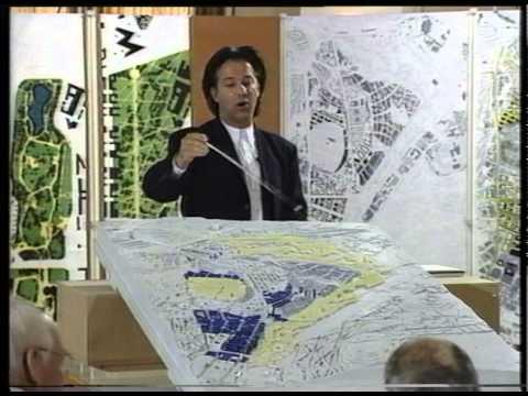 Erick van Egeraat: Städtebauliches Gutachterverfahren, Stuttgart 21, Sommer 1996