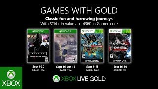 Xbox   September 2019 Games With Gold