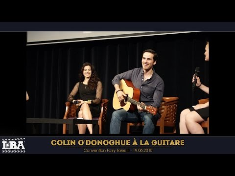 HD Colin O'Donoghue plays the guitar (and sings) - Fairy Tales III Once Upon A Time